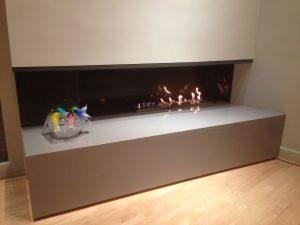 Modern Fireplace Construction