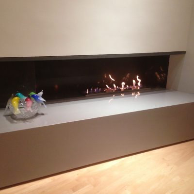 Modern Fireplace Construction